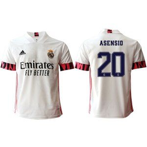 Real Madrid Marco Asensio White 20-21 Jersey
